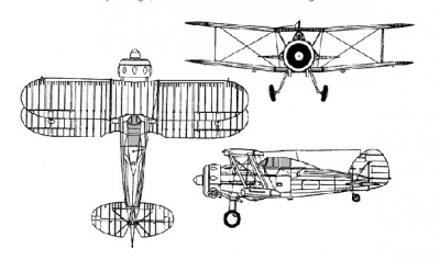 Gloster Gladiator all views.png