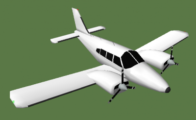 Piper PA-34 progress
