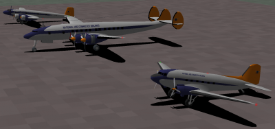 Update: FW200, Super Constellation, and DC-3.