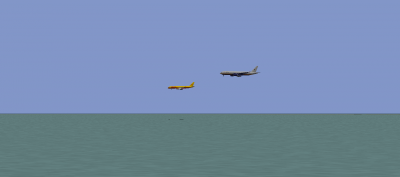 One of those shots you normally see on the web. Parallel approach to RWYs 28L and R.