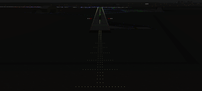 MLA has a simple approach lighting system on RWY 31 for night time landings.
