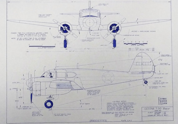 Blueprints Cessna T-50.jpg
