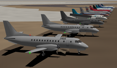 Saab 340 collection