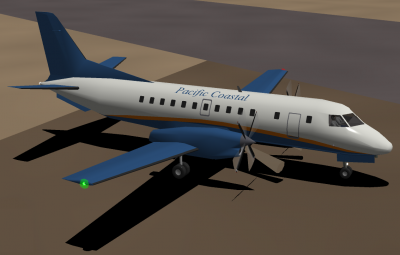 Pacific Coastal Saab 340B