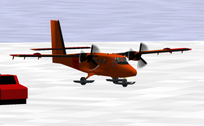 Just flying around Mcmurdo looking for the thing.