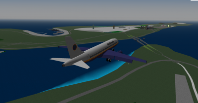 Approach for runway 25 at OCA.