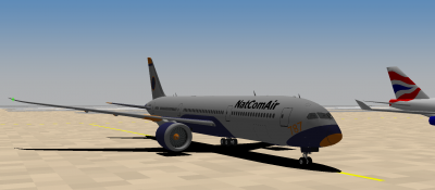 Parked at CSH after landing on 9C. Abel landed on 9L
