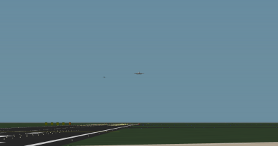 Turbofan and Lotus landing at Serosa.