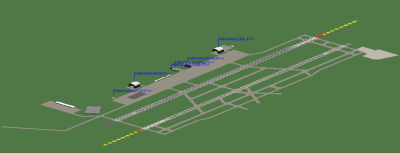 Orlando International-West runways