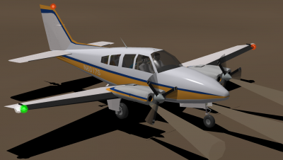 Baron 58P based on N6017S.