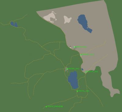 Lake Tahoe Map