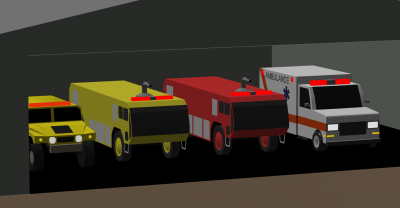 fire truck objects