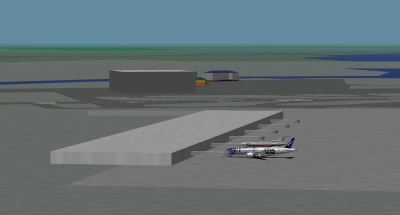 Turbofan and I parked at Haneda.