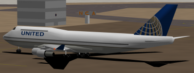 UAL 747 Complete