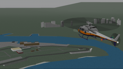 NCA helicopter