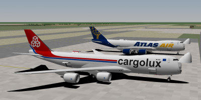 Decaff and I starting out at Viracopos International Airport's cargo ramp, getting some cargo loaded for a flight up to Rio de Janeiro Galeaos International Airport. Viracopos is a major cargo hub in Brazil.