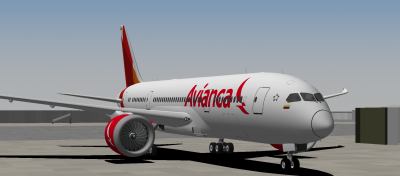 Looks great in the Avianca scheme!
