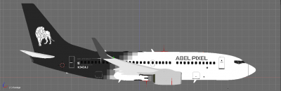 Boeing 737-700NG Abel Pixel - Subsidiary Airline of Abel Jets