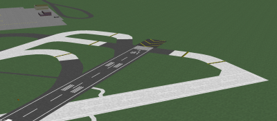 Removal of former taxiway Golf; I have simplified the taxiway deignations and Alpha 2 now extends across RWY 18L and joins RWY 22.